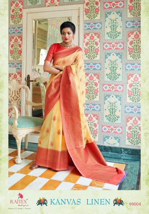 Rajtex Saree Kanvas Linen 99004
