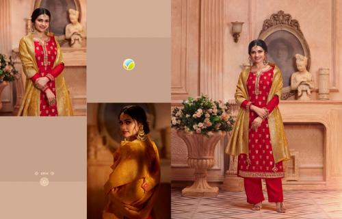 Vinay Fashion Kaseesh Zardosi Hit List 13741-13746 Series