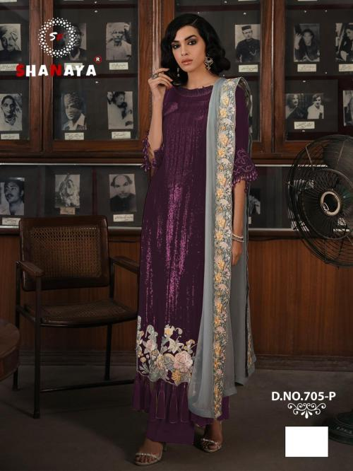 Shanaya Fashion Rose Craft Edition 705-P Price - 1275