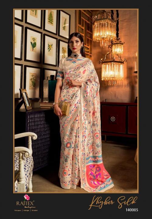 Rajtex Saree Khyber Silk 140005  Price - 2195