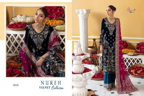 Shree Fab Nureh Velvet Collection 1910-1913 Series