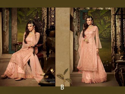 Mohini Fashion Glamour 61005 B Peach