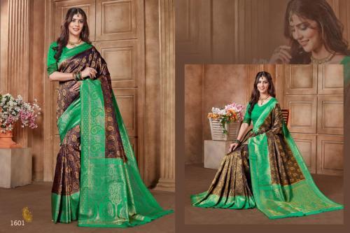 Jyotsana Saree Kanjivaram Silk 1601 Price - 2250
