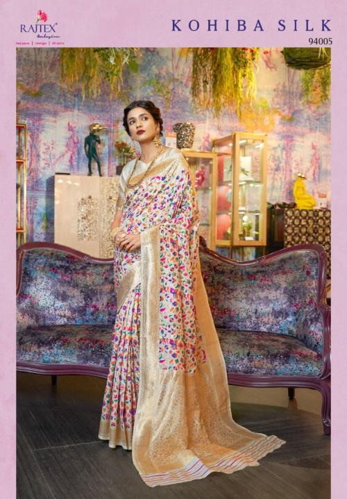 Rajtex Kohiba Silk 94005 Price - 2200