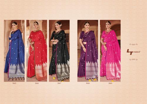 LT Fabrics Nitya Brahmi 3065-3069 Price - 2975