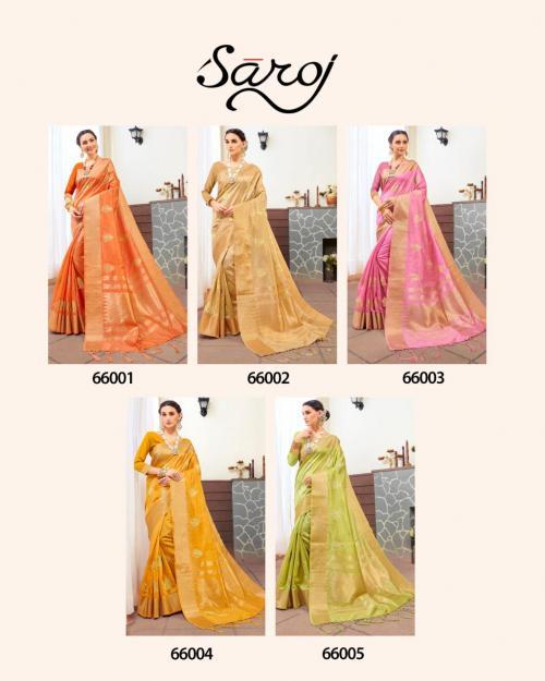 Saroj Saree Amaira 66001-66005 Price - 6225