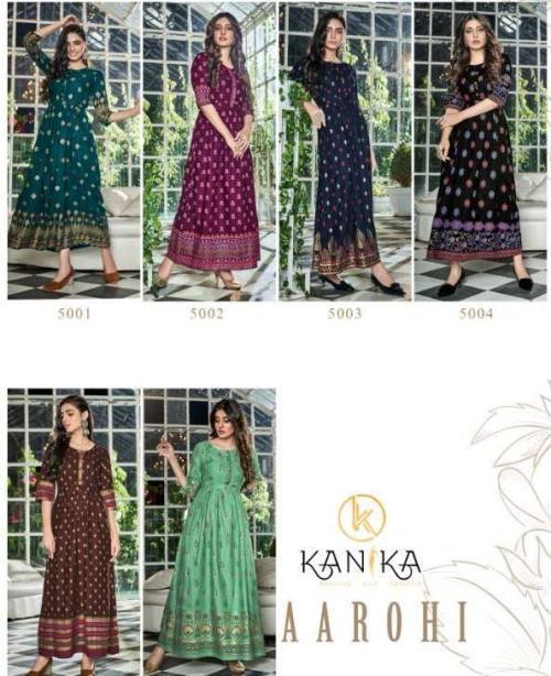 Kanika Fashion Aarohi 5001-5006 Price - 3570