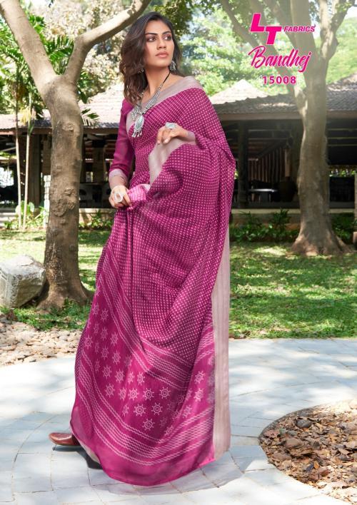 LT Fabrics Nitya Bandhej 15008 Price - 655