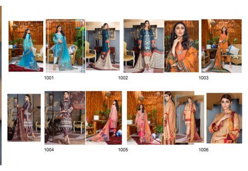 Yashika Trends Amira.B 1001-1006 Price - 2700
