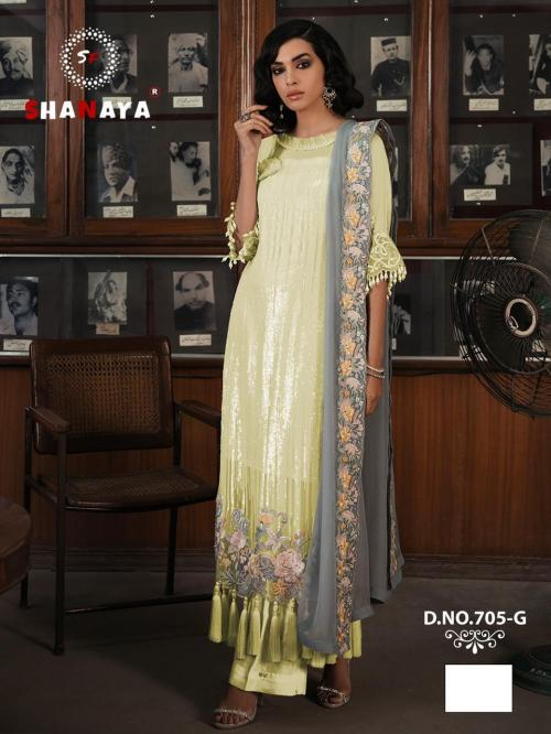 Shanaya Fashion Rose Craft Edition 705-G Price - 1275