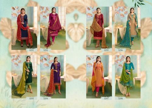 Kessi Fabrics Sajawat 5291-5298 Price - 7192