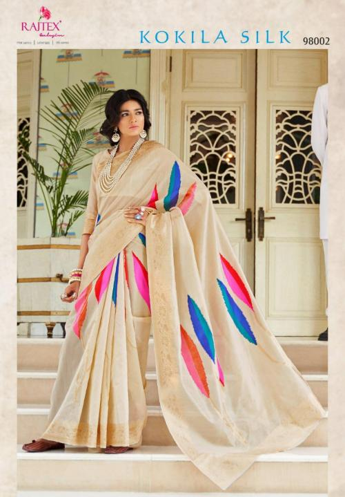 Rajtex Saree Kokila Silk 98002 Price - 1360