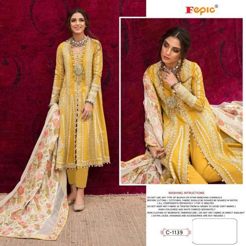 Fepic Rosemeen C-1139 Dress material
