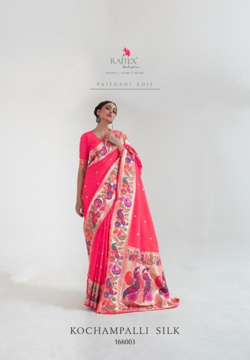 Raj Tex Saree Kochampalli Silk 166003 Price - 1775
