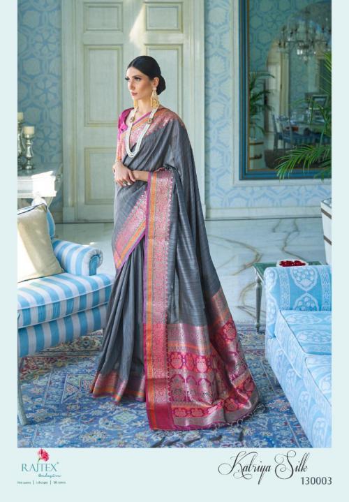Rajtex Saree Katriya Silk 130003  Price - 1360