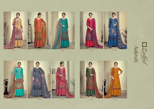 Zulfat Designer Aakruti 315-001 to 315-010 Price - 5450