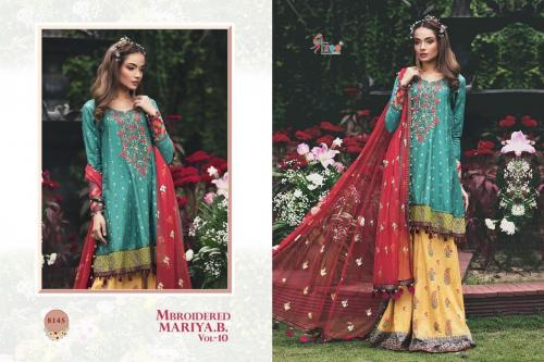 Shree Fabs Mbroidered Mariya B 8145 Price - 1399