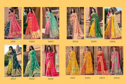 Tathastu Saree 3801-3809 Price - 30165