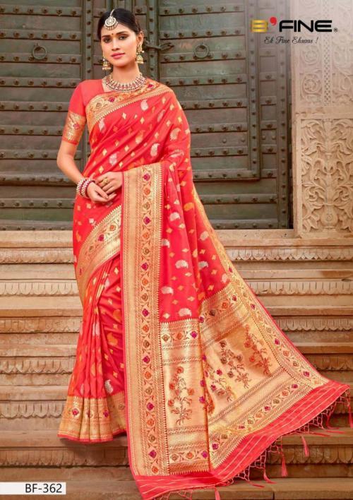 B Fine Saree Nazar 362 Price - 2095