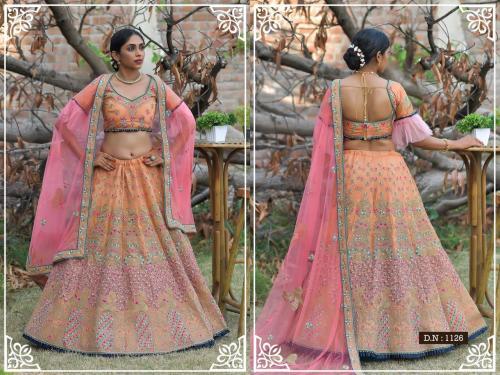 Peafowl Vol-76 Bridal Lehenga 1126 Price - 3533
