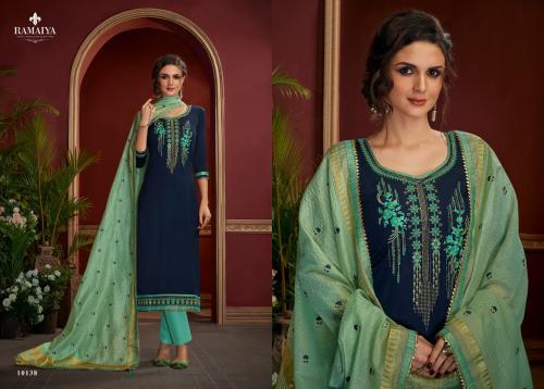 Kessi Fabrics Ramaiya Palkhi 10138 Price - 899