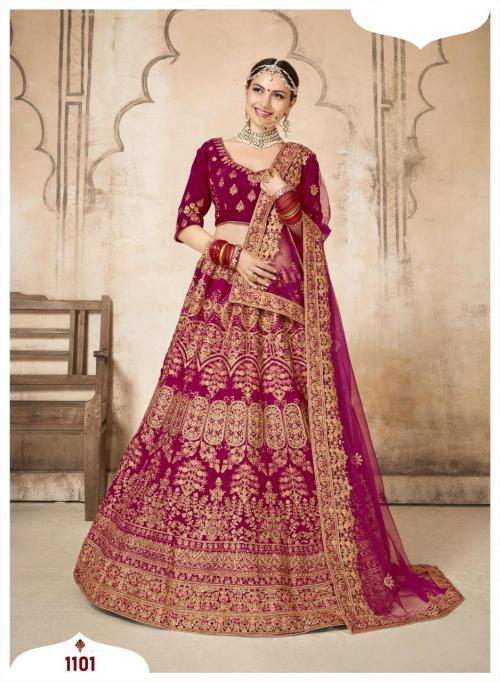 Shehnai Lehenga Bridal Heritage Vol-1 1101-1106 Series