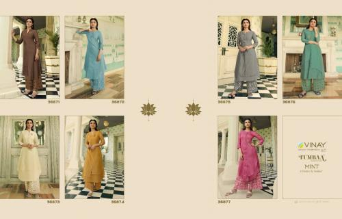 Vinay Fashion Mint 36871-36877 Price - Inquiry On Watsapp Number For Price