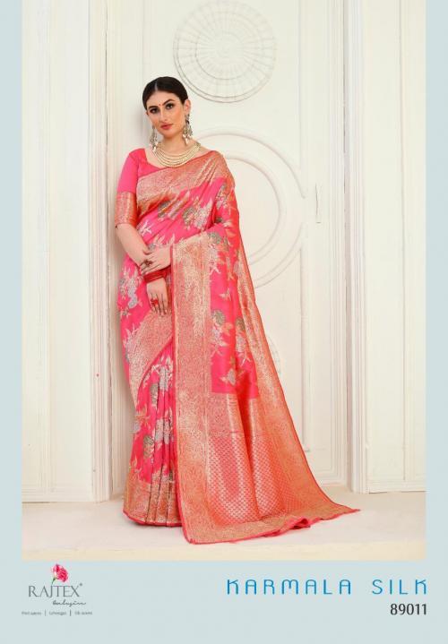 Rajtex Fabrics Karmala Silk 89011-89014 Series