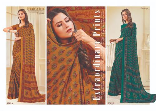 Sushma Saree Ensemble 9702 AB Price - 1500