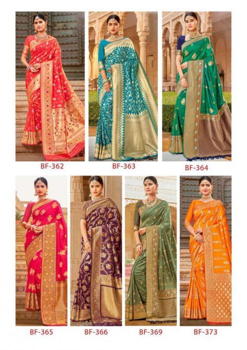 B Fine Saree Nazar 362-373 Price - 14415