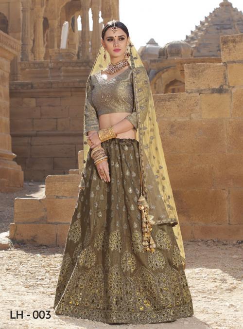 Jodha Wedding Lehengas LH-3 Price - 4369