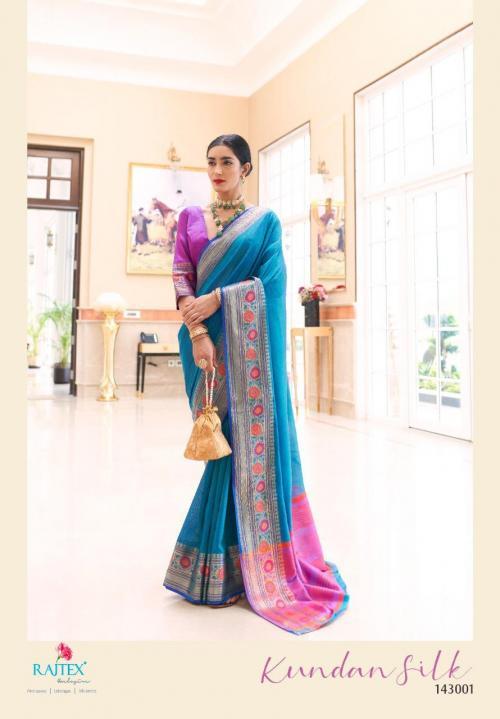 Rajtex Kundan Silk Vol-3 143001-143006 Series