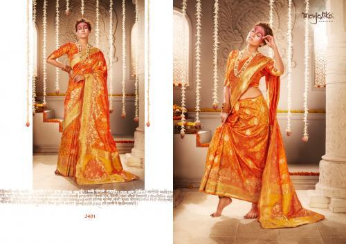 Manjolika Fashion Mira Silk 3401 Price - 1595