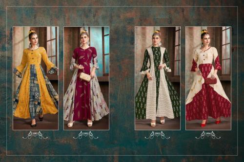 Riya Designer Aaisha 1001-1004 Price - 4196