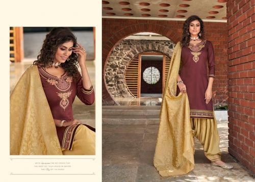 Kessi Fabrics Silk By Patiyala 4004 Price - 949