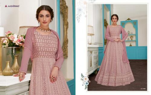 Aashirwad Creation Gulkand Anushka 7088 Price - 2495