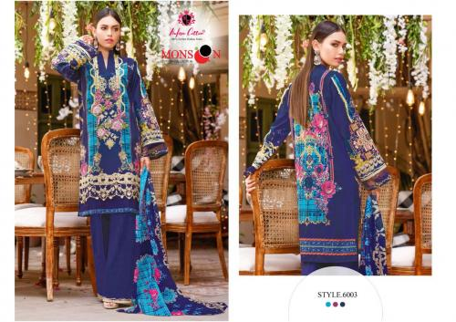 Nafisa Cotton Monsoon 6003 Price - 399