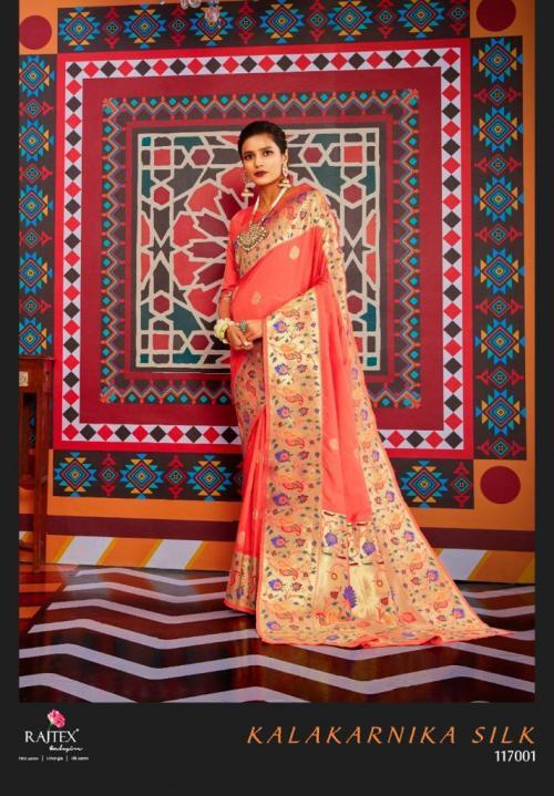 Rajtex Saree Kalakarnika Silk 117001 Price - 2295