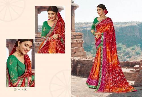 Kessi Fabrics Bandhej 4237 Price - 1199