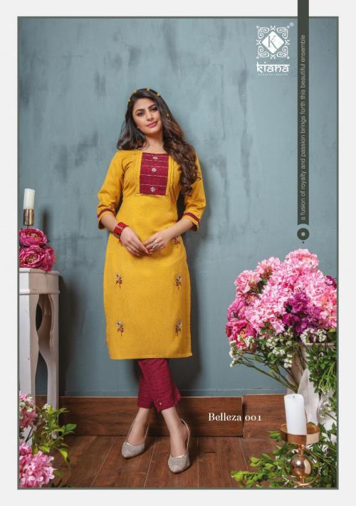 Kiana Fashion Belleza 001 Price - 775