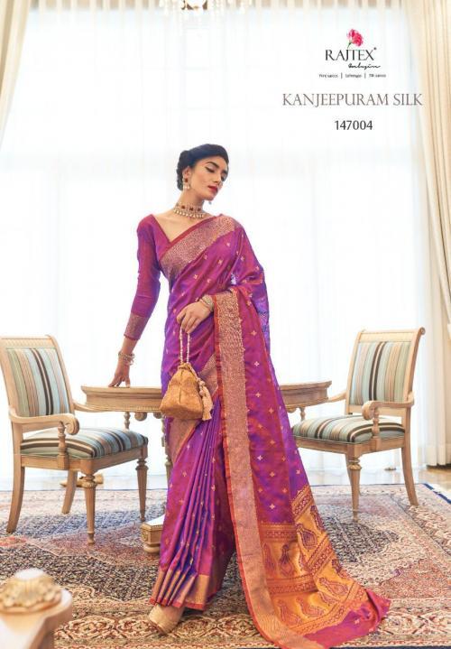 Rajtex Saree Kanjeepuram Silk 147004 Price - 1245