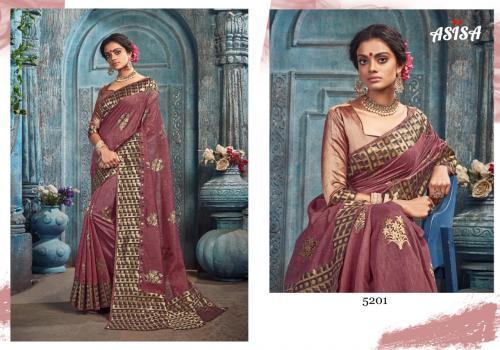 Asisa Saree Pankhudi 5201-5204 Series