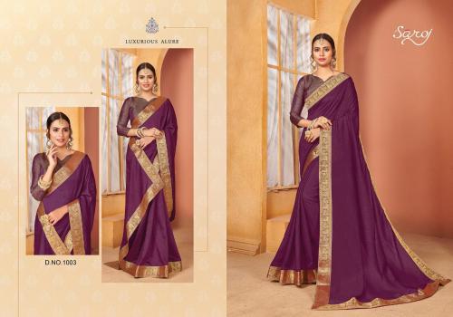 Saroj Saree Quality 1003 Price - 645