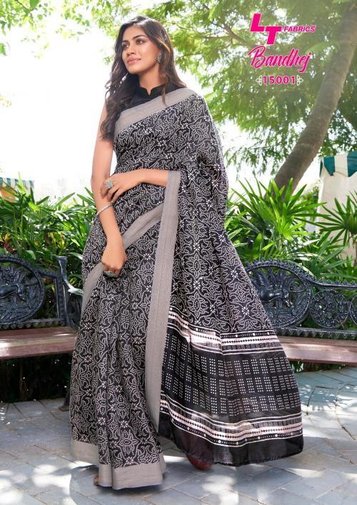 LT Fabrics Nitya Bandhej 15001 Price - 655