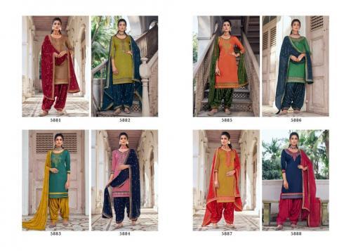 Kessi Fabric Patiala House 5881-5888 Price - 6792