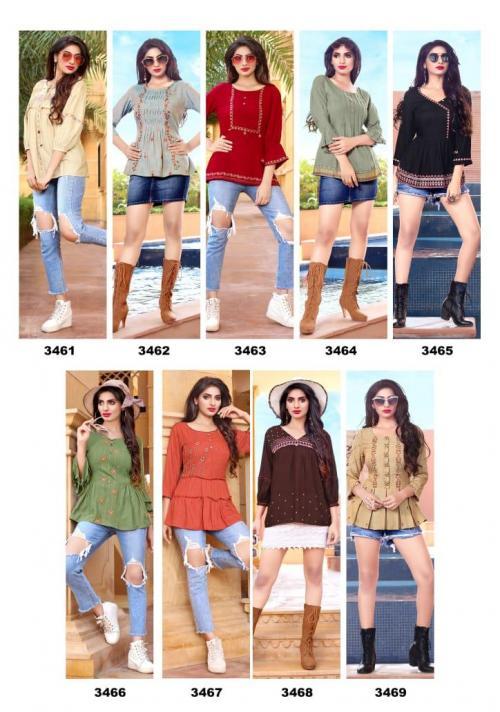 Yami Fashion Topsy 3461-3469 Price - 3555