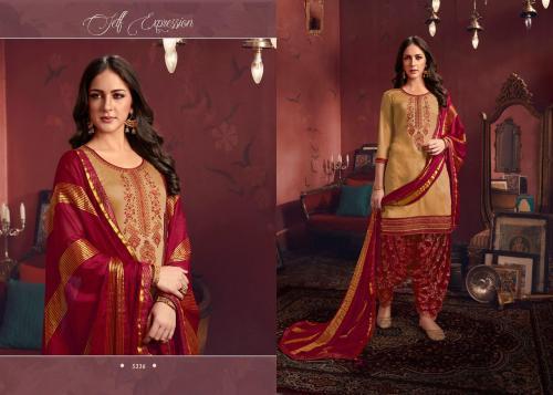 Kessi Fabrics Shangar By Patiala House 5336 Price - 1099