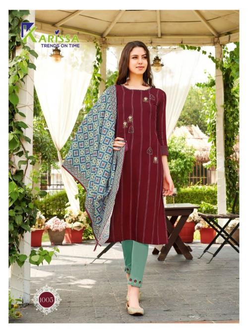 Karissa Trendz Bombay Beauty 1005 Price - 1105
