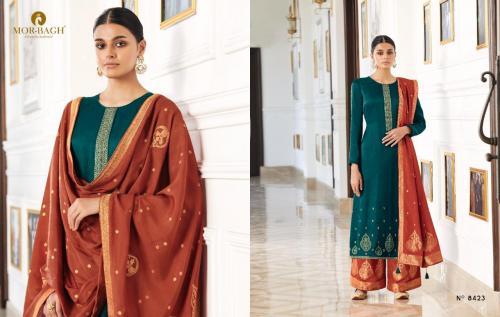 Aashirwad Creation Mor Bagh Aviva 8423-8428 Series