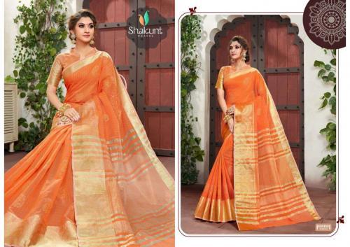 Shakunt Saree Sabrina 500001-500008 Series
